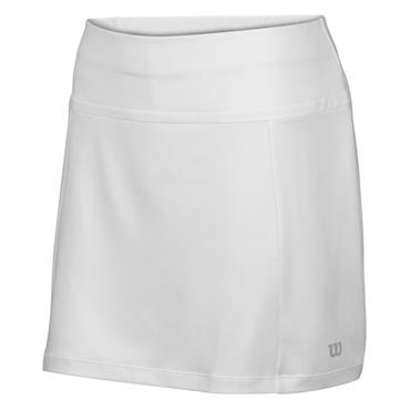 "Wilson Ladies Nvision Elite 14.5"" Tennis Skirt White"