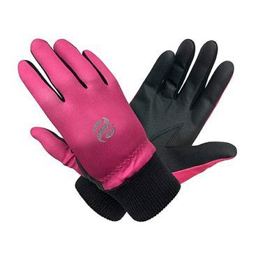 Surprizeshop Ladies Polar Stretch Winter Gloves Pink