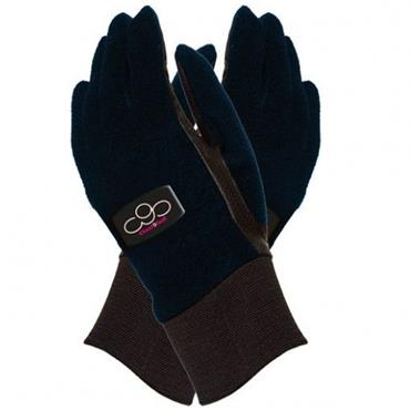 Surprizeshop Fleece Winter Gloves Ladies Navy