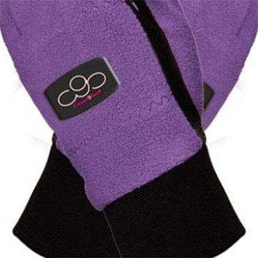 Surprizeshop Fleece Winter Gloves Ladies Purple
