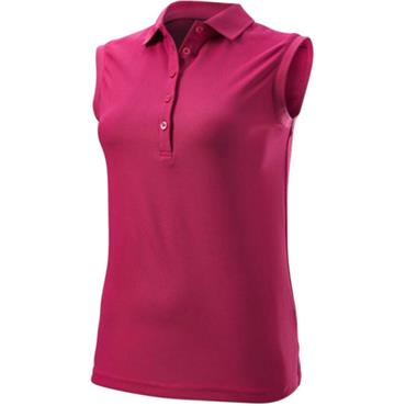 Wilson Ladies Sleeveless Polo Purple