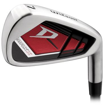 Wilson Deep Red Maxx 7 Steel Irons 5-SW Gents RH