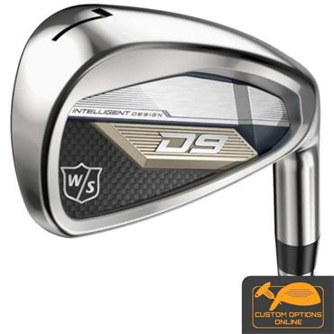 Wilson D9 6 Steel Irons 5-PW Gents LH