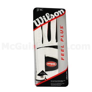 Wilson Gents Feel Plus Golf Glove Left Hand