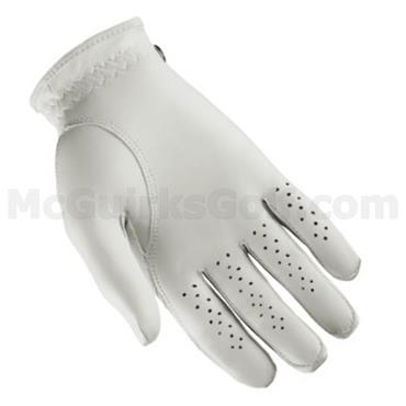 Wilson Gents Advantage Leather Golf Glove 2 Pack White