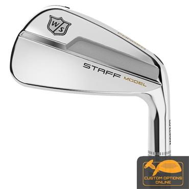Wilson Staff Model Blade 8 steel irons 3-PW Gents RH