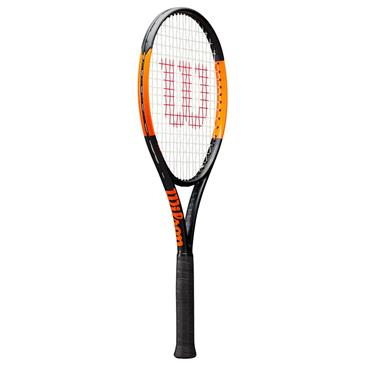 Wilson Tennis Burn 100S Tennis Racket Black - Orange