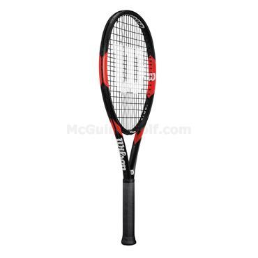 Wilson Federer Tour 105 Tennis Racket Black - Red