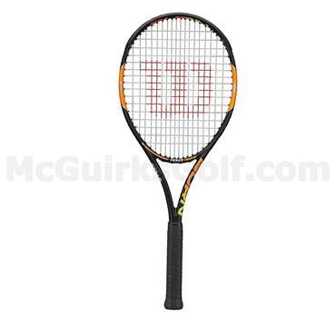 Wilson Burn 100 Tennis Racket Black - Orange