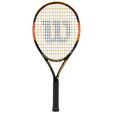 Wilson Burn 25S Junior Tennis Racket Black - Orange