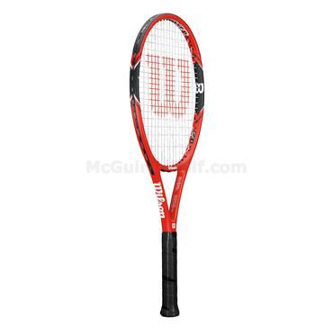 Wilson Federer 100 Tennis Racket Red - Black