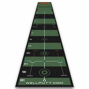 Wellputt Wellputt 4M High Speed Mat  Orange