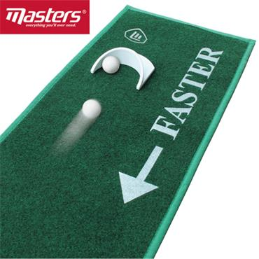 Masters Golf Dual Speed Putting Mat  .