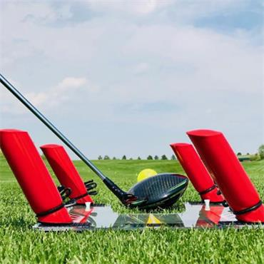 Eyeline Golf Speed Trap with Foam Power Rods  .