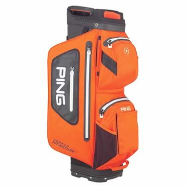 Ping Pioneer Monsoon 201 Cart Bag  Orange/Black