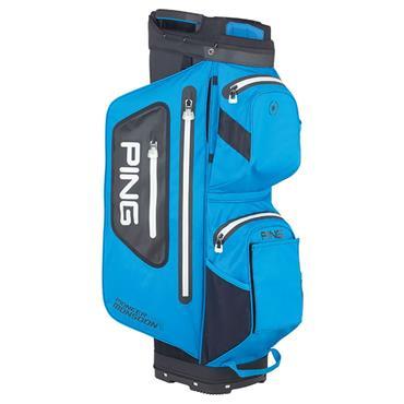 Ping Pioneer Monsoon 201 Cart Bag  Azure Black