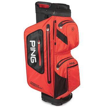 Ping Pioneer Monsoon 201 Cart Bag  Scarlet/Black