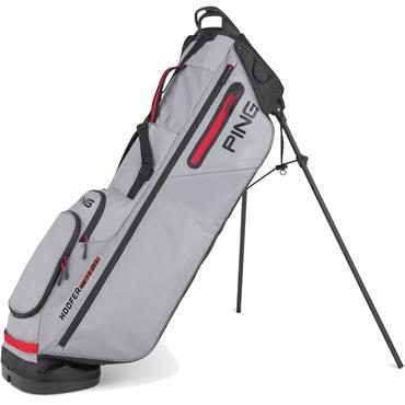 Ping Hoofer Craz-E Lite 201 Carry Bag  Grey/Black/Scarlet