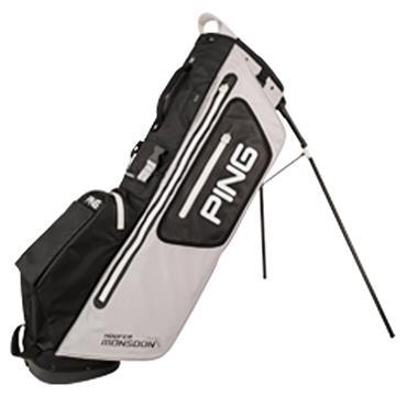Ping Hoofer Monsoon 201 Carry Bag  Light Grey Black White