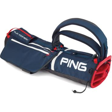 Ping Moonlite 201 Carry Bag  Navy/White/Scarlet