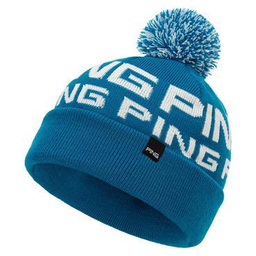 Ping Logo Bobble 203 Hat  Ocean White