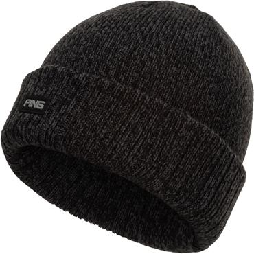 Ping Dale Knitted Hat  Black Multicolour