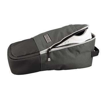 Ping Ping Shoe Bag  Steel/Black