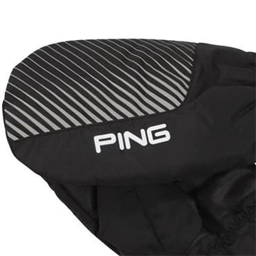 Ping Cart Mittens  Black