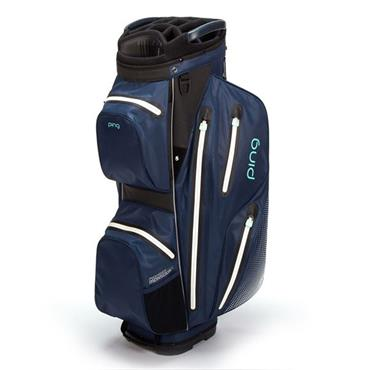Ping Pioneer Monsoon Waterproof Ladies Cart Bag Navy - Mint