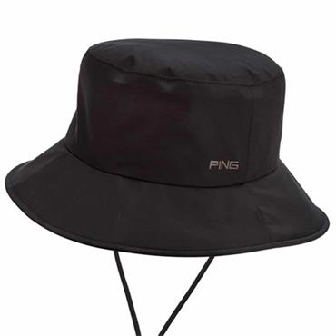 Ping Waterproof Bucket Hat  Black
