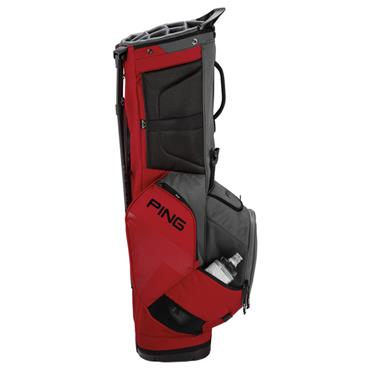 Ping Hoofer 181 Carry Bag  Graphite Black Red
