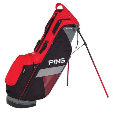 Ping Hoofer Lite 181 Carry Bag  Scarlet/Black/Grey