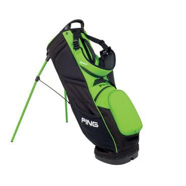 Ping Prodi G Small Carry Bag  Black/Electric Green