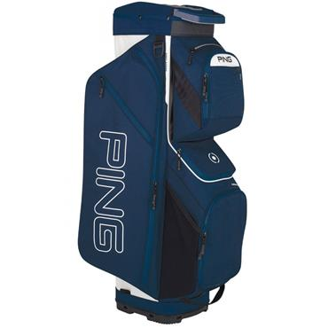 Ping Traverse 191 Cart Bag Navy - White