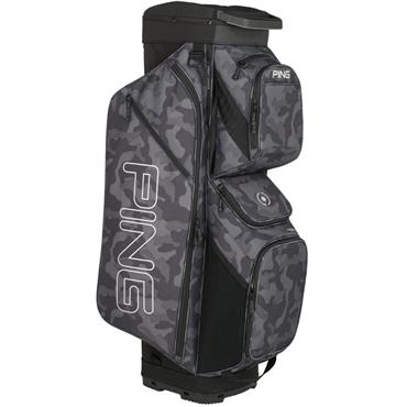 Ping Traverse 191 Cart Bag Black Camo - Platinum