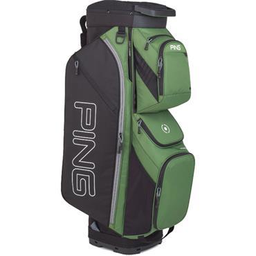 Ping Traverse 191 Cart Bag  Olive Black