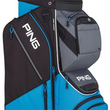 Ping Pioneer 191 Cart Bag  Azure/Grey