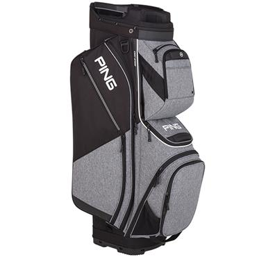 Ping Pioneer 191 Cart Bag  Heather Grey/Black
