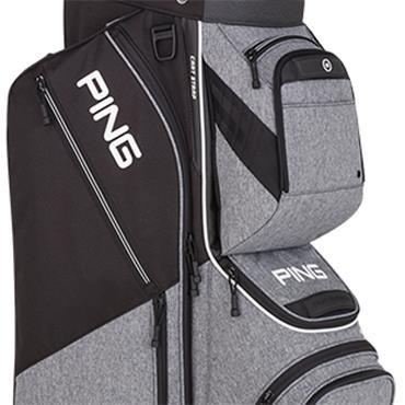 Ping Pioneer 191 Cart Bag  Heather Grey/Black