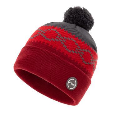 Ping Jorgen Bobble 203 Hat  Red Grey Multi