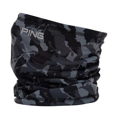 Ping Camo Neck Warmer 203  Black Multi