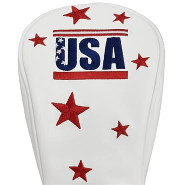 Premier Licensing Fairway Headcover White USA