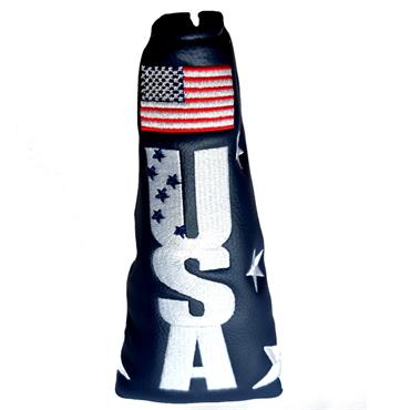 Premier Licensing Blade Putter Headcover Navy USA