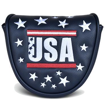 PRG Originals Mallet Putter Headcover Navy USA