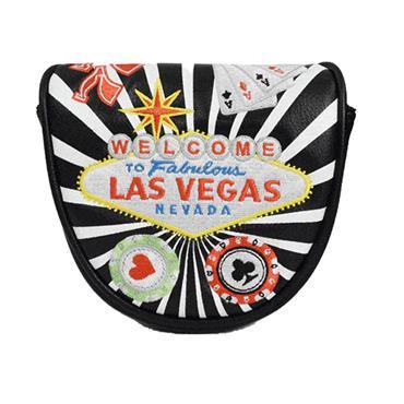 PRG Originals Mallet Putter Headcover Black Vegas