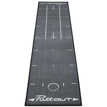 PuttOUT Putting Mat  Grey