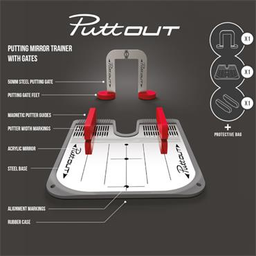 PuttOUT Putting Mirror  ONE
