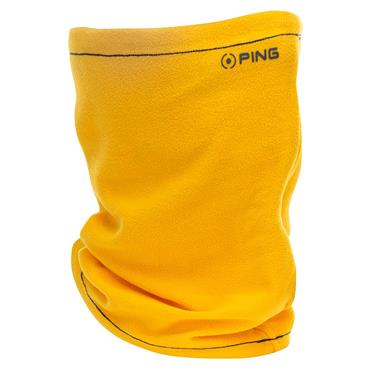 Ping Gents Harlow Knit Neck Warmer  Greystone Radiant Yellow