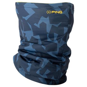 Ping Gents Harlow Knit Neck Warmer  Delph Blue Navy DBN3