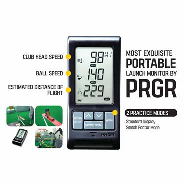 PRGR Launch Monitor  Black